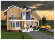 Проектирование для Вас:  домов , коттеджей любой сложности