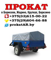 Аренда и прокат прицепов в Борисове,  Жодино,  Крупках,  Березино