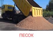 Песок в Борисове (ПГС,  гравий) с доставкой