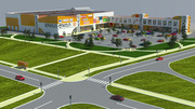 В аренду предлагаются торговые площади от 1 до 2 тыс. м2.