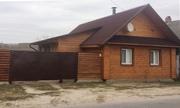 Дом деревянный   за городом