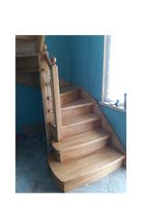 Лестницы (дерево,  металл). Отделка бетонных лестниц деревом
