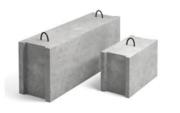 Фундаментный блок строительный ФБС 12.3.6