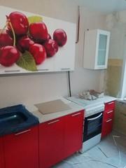 Кухня Вишня 2.0 метра. Новая. С фотопечатью.